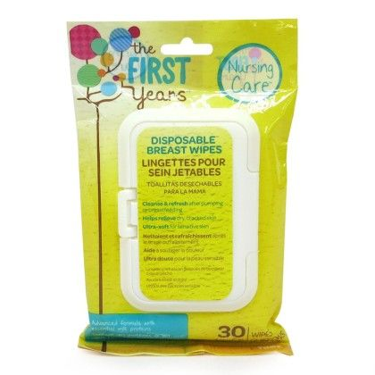 Soothing Breast Wipes 30 Swipes - The First Years
