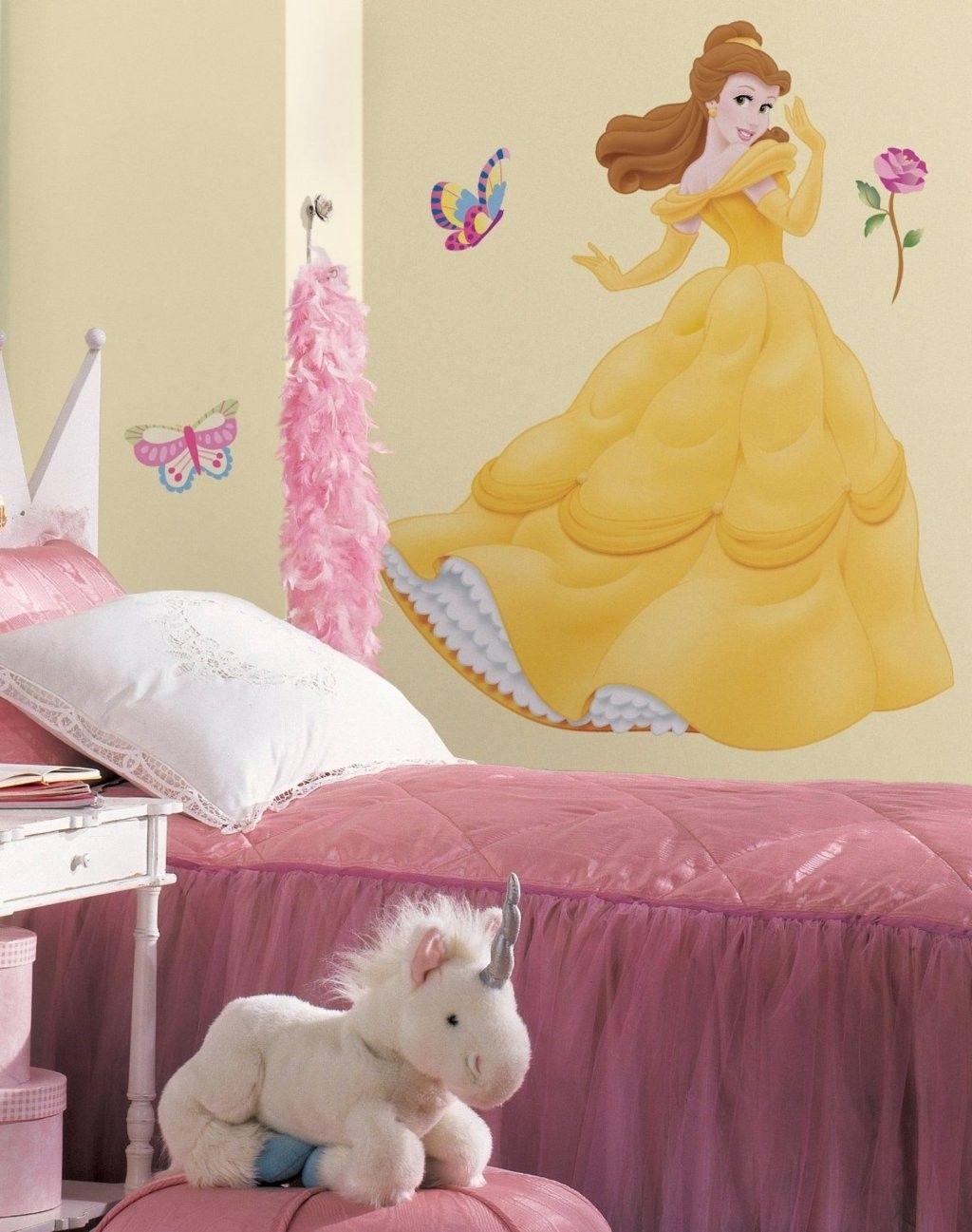 Hopscotch - Disney Wall Decals - Belle Giant Applique
