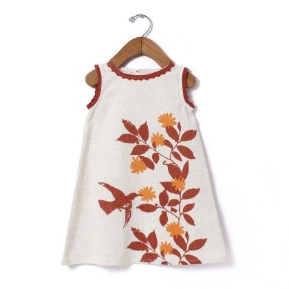 Nature A-line Dress Brown - Aomi By Appleofmyi