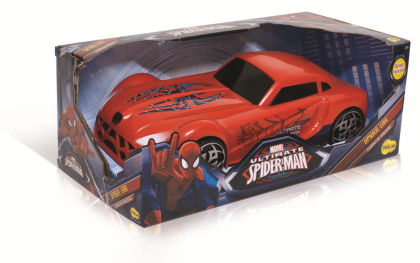 Spider Man Friction Car - Yellow