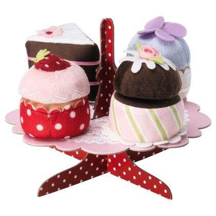 5-p Serving Stand With Cupcakes Set - Home Essentials