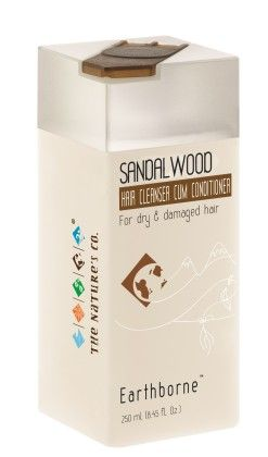 Sandalwood Hair Cleanser Cum Conditioner - THE NATURE'S CO.