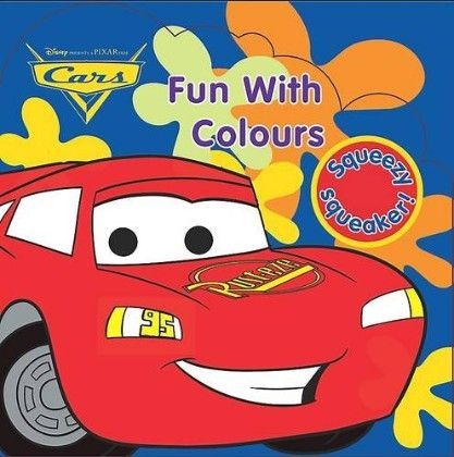 Disney Pixar Cars Fun With Colours (bath Book) - PaRRagon