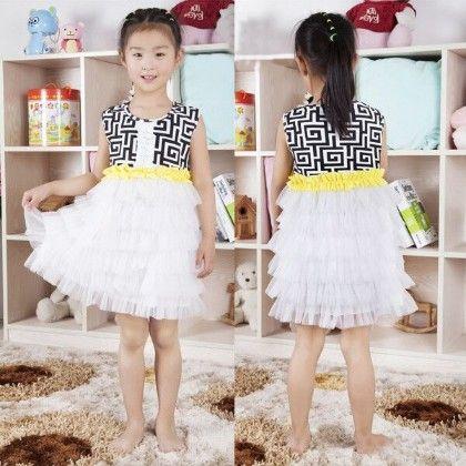 Lace Ruffle Top Dress - Cutie Baby Boutique
