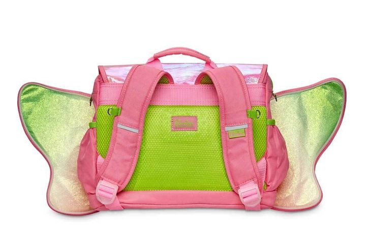 ffac61b4b856 8 inch Pink Fairy Flyer Small Backpack With Led's