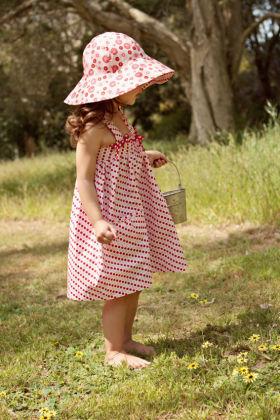 Milly - Strawberry Shortcake Dress - Oobi