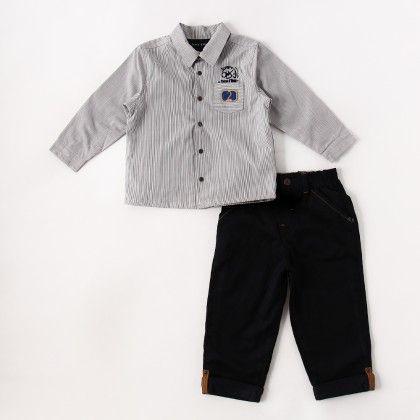 Trousers Set Navy Blue - Sucre D'Orge