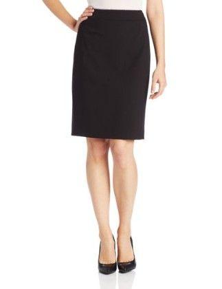 Straight-fit Suit Skirt-black - Calvin Klein