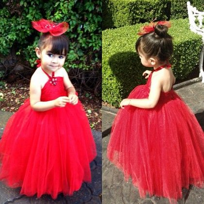 Red Tutu Dress - Little Dress Up