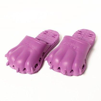 Paws - Slip Ons-purple - Red Apple