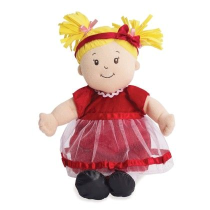 Baby Stella Fanciful Frills Holiday Outfit - Manhattan Toy