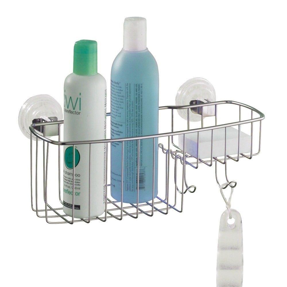 Awesome Inter Shower Caddy Stainless Steel Elaboration - Bathtub ...