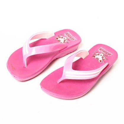 Solid Slip Ons-pink - Red Apple