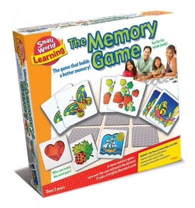The Memory Game - Small World Toys