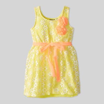 Abbey-ann Dress Yellow - Pogo Club