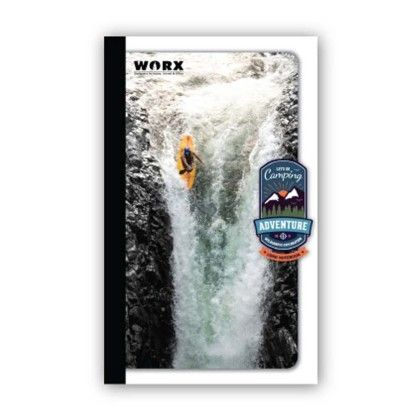 Long Notebook, 164 Pages (ruled) Waterfall - Chitra