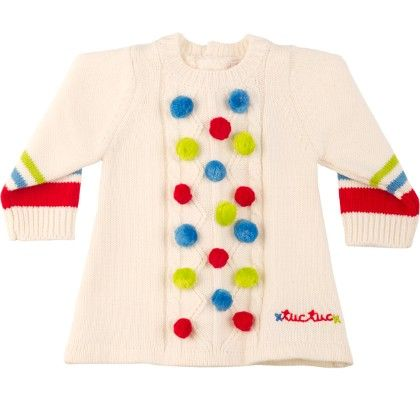 Knitteddotted Dress - TUC TUC