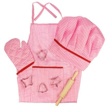Pink Chef's Set - Big Jig Toys