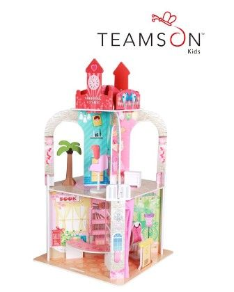 Shopping Center Theme Doll House With Figurine - Teamson Kids