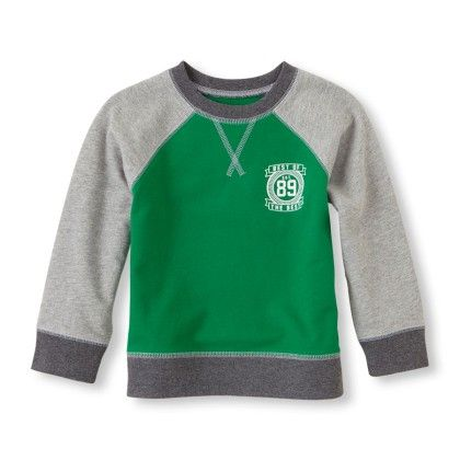 Active Pullover Raglan Sweatshirt - The Children's Place