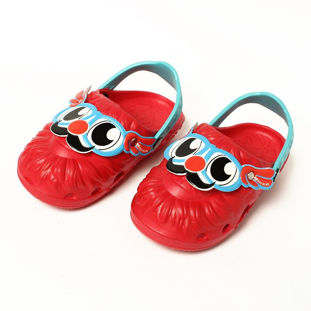 Face Slip Ons-red - Red Apple