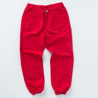 Unisex Jogger Pants-deep Red - Milk Teeth