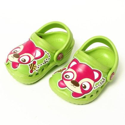 Doggy Slip Ons-green - Red Apple