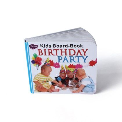 Kids Board Book Birthday Party - SAWAN