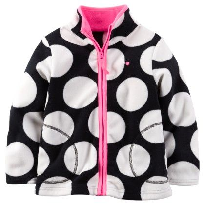 Black And White Dot Jacket - Carter's