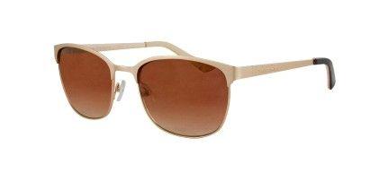Vernier Women's Double  Plated Metal Club Master Sunglasses - Vernier Watches