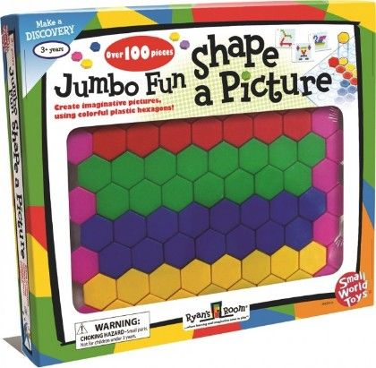 Jumbo Fun Shape A Picture - Small World Toys
