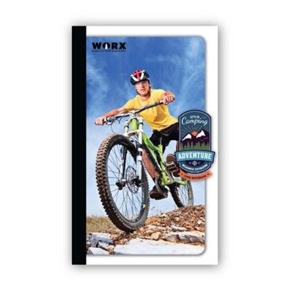 Long Notebook, 116 Pages (ruled) Cycling - Chitra