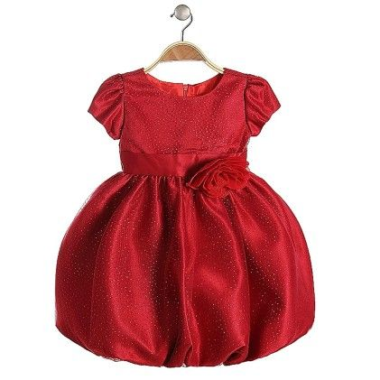 Flower Frock Red - Lil Mantra