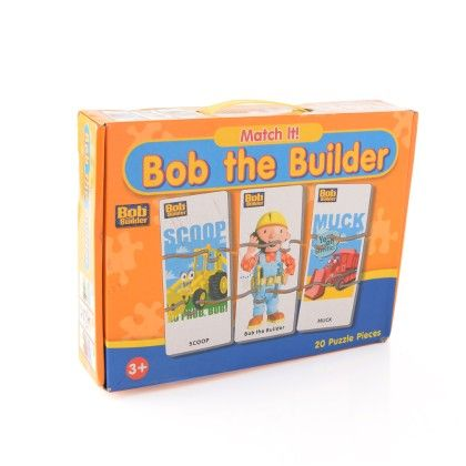 Match It Puzzle Bob The Builder - Gift Box