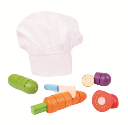 Cutting Vegetables Chef Set - Big Jig Toys