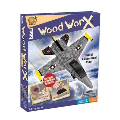 Wood Worx® Jet Fighter Kit - Patch
