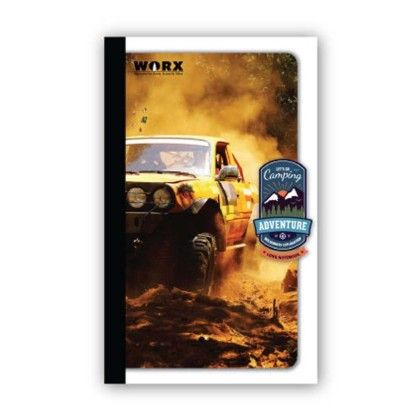 Long Notebook, 116 Pages (ruled) Car - Chitra