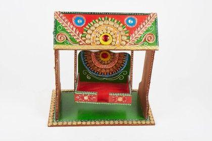 Khanna Jhula Hut Red - Color Crave
