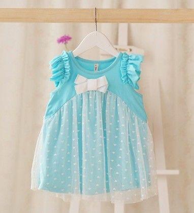 Blue Angel Baby Dress - Petite Kids