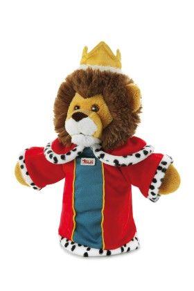 Hand Puppet Lion - King - Trudi