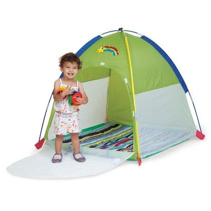 Baby Suite Deluxe Lil Nursery Tent - 36 Inch X 36 Inch X 36 Inch - Green - Pacific Play Tents