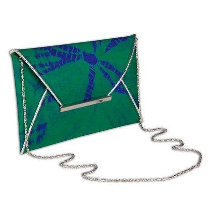 Bottle Green Splash Hand Bag - Arancia