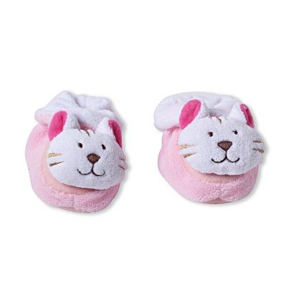 Ole Baby Soft Furry 3d Ole Toons Shoes - Pink