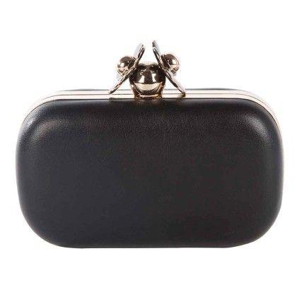 Black Daisy Box Hand Bag - Arancia
