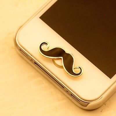 Moustache Stick On Mobile Accessories - Jazz Fashions