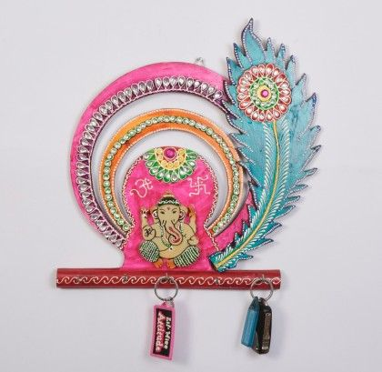 Key Holder Ganpati - Color Crave