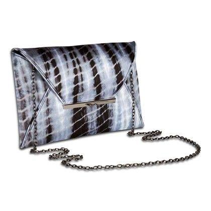 Flashback Monotone Tiedye Envelope Hand Bag - Arancia