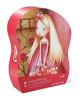 36 Pc Shaped Puzzle - Flower Princess - Crocodile Creek