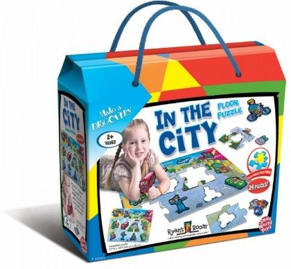 In The City Floor Puzzle - Small World Toys