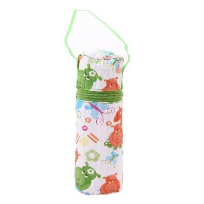 Bottle Cover-cylindrical 250ml-green - Morisons* Baby Dreams
